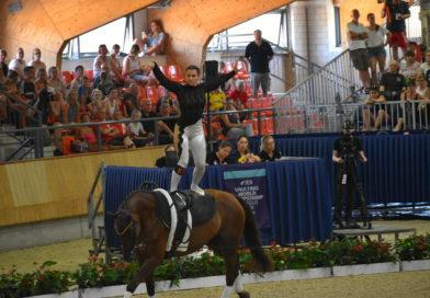 A magyar lovastornászok Hollandiában is letették névjegyüket